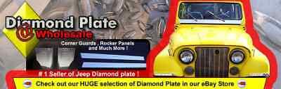 My jeep diamond plate store