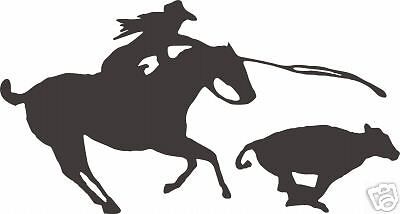 Rodeo Horse Equestrian Cowboy Trailer Sign Decal 13