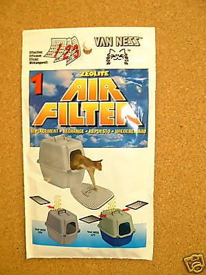 Van Ness  / Pure Ness  Cat Toilet Original Replacement Zeolite  Filters 2