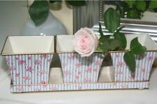 Deko-Blumentöpfe aus Zink