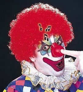 Rote  CLOWNSNASE m.Sound (Musik) für unsere Clowns