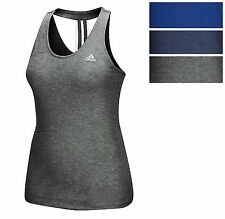 adidas Women's Derby Tank Athletic Racerback Stretchy Tank Top Tee All Col. & Sz
