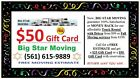 Wellington Moving companies Big Star (561)615-9889