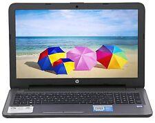 """New HP 15.6"""" Intel Core i3-6100U 2.3 GHz 8GB Ram 1TB HD DVD RW Windows 10 Silver"""