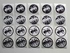 The Prodigy Ant Logo 5cm sticker 20 pcs set
