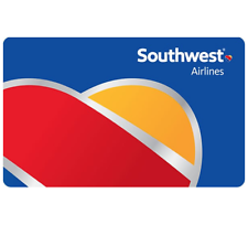 $50 Southwest Airlines Gift Card-Extra 10% OFF When you spend $100 or more-Email