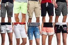 Superdry Shorts f. Damen & Herren versch. Modelle
