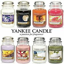 Yankee Scented Classic Luxury Candle Large Glass Jar 22oz 623g